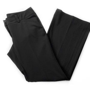 WHBM • Noir Trouser Leg Pants